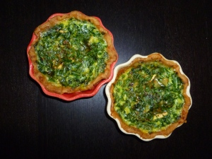 Wild Garlic Tarts