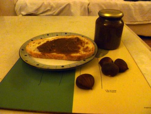 Sweet Chestnut jam