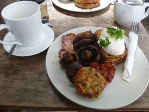 Farmer's Breakfast at the Farm Café