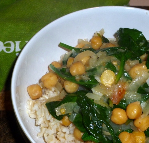 Lebanese Influenced Chickpea & Lemon Curry