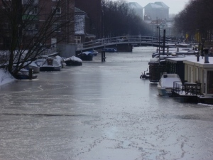 Frozen Canal View