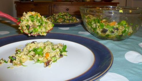 Winter Vegetable Tabouleh