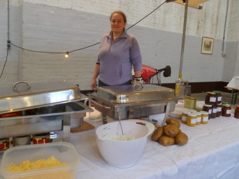 Edible Things Stall at Neighbourfood Market