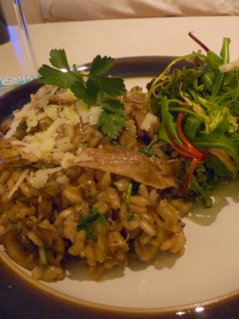 Duck & Mushroom Risotto