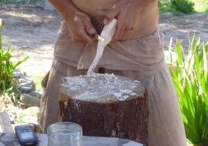Making a Wooden Spoon