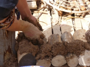 Constructing a Stackwall from Cordwood