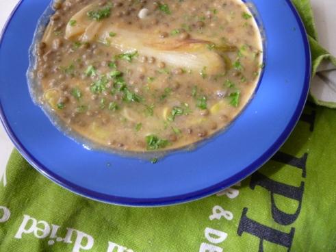 Spring Lamb Soup