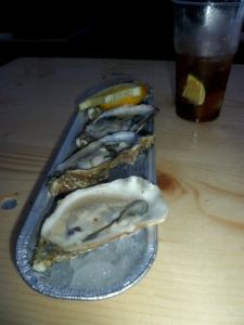 Oysters from Ik Will Oesters