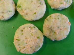 Prepared Salmon Fish Cakes