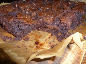 Rich Choc & Orange Brownies