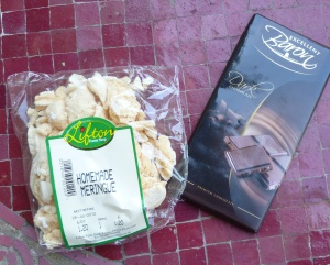 Foodie Penpals Meringue and Chocolate