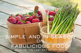 Simple & in Season Blog Badge