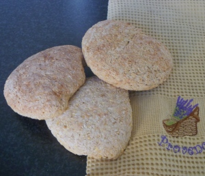Sprouted chickpea bread