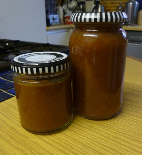 Spiced Japanese Quince Jam