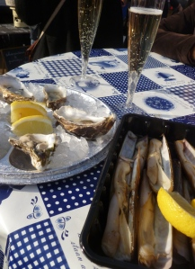 Oysters, Razor Clams and Prosecco to Kick Start Rollende Keukens 2013