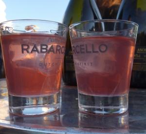 Rabarcello - tasty rhubarb schnaps