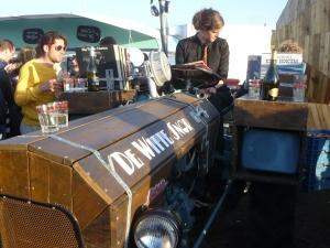 A Very Unusual DJ Booth