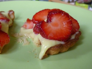 Strawberry and Fennel tart in Profile