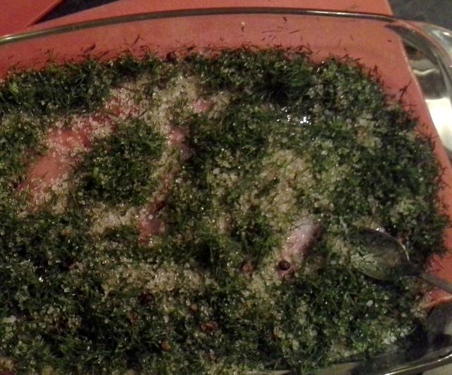Gravad Max (Mackerel Gravlax) Recipe — Dishmaps