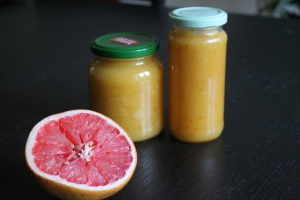Ruby Grapefruit Curd