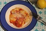 Ricotta Gnudi and Tomato Chilli Sauce