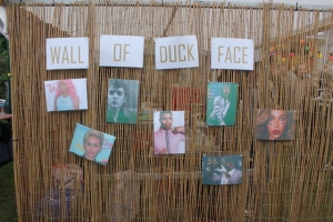 Wall of Duck Face at Rollende Keukens